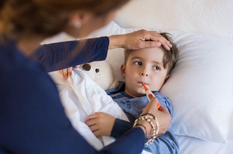 Kvíz: Co víte o chřipce u dětí?