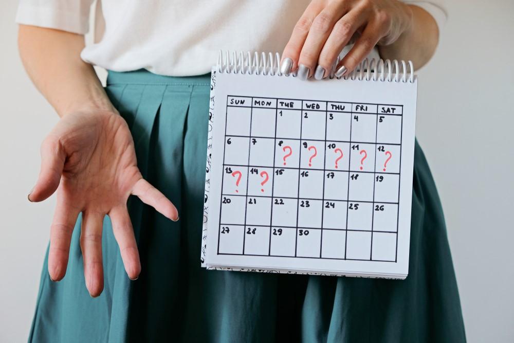 Menstruační kalendář k vytisknutí. Pomůžeme vám lépe poznat fáze menstruačního cyklu