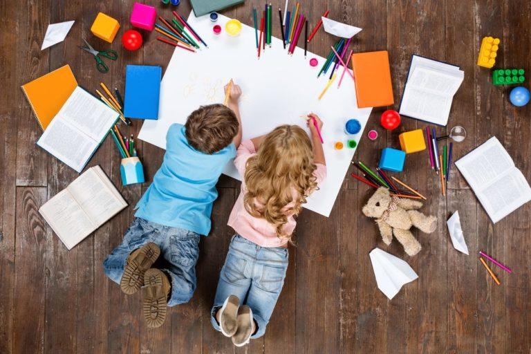 Jak zabavit děti doma? Vytvořte si řád a využijte dětské kreativity