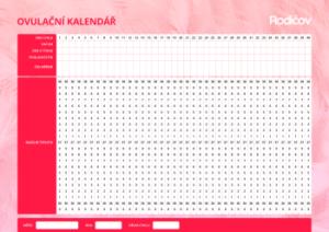 Ovulační kalendář online ke stažení - náhled